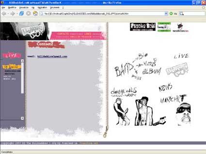 killdaddies website - franzroom.net