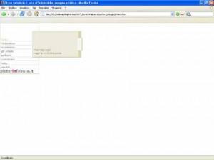 andrea Franzosi - design e sviluppo PictorInFabula website