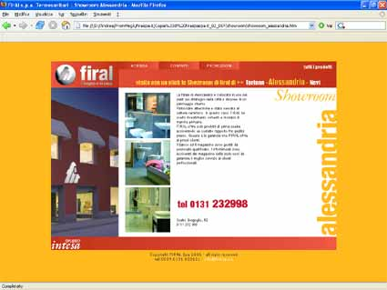 Firal spa website