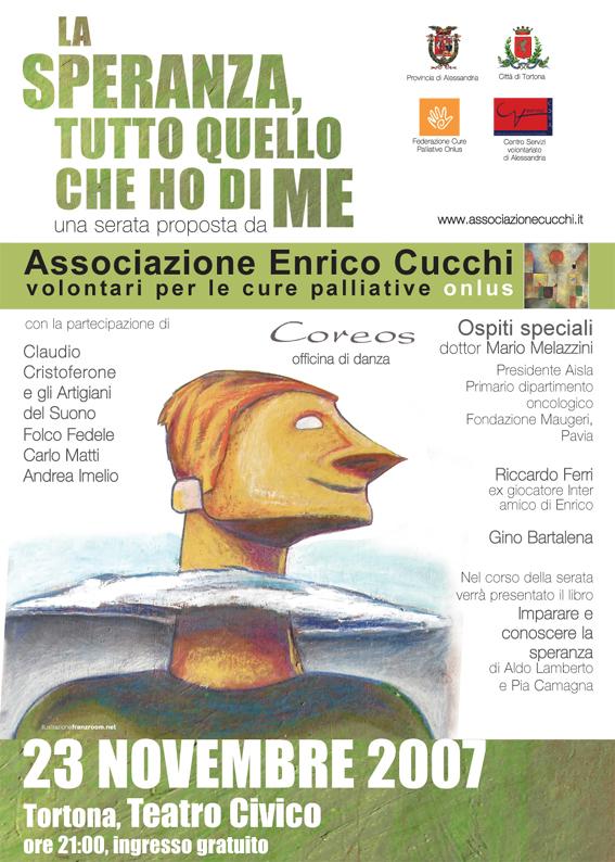 Ass. Cucchi - locandina Andrea Franzosi, franzroom.net