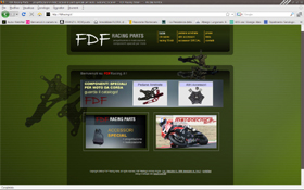 FDF Racing website