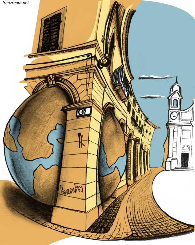 Associazione Le Opere e i Giorni, illustrazioni per conferenze