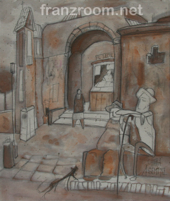 Passa la giornata, Spaesamenti - Andrea Franzosi franzroom.net