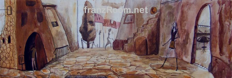 Cortile,, Spaesamenti - Andrea Franzosi franzroom.net