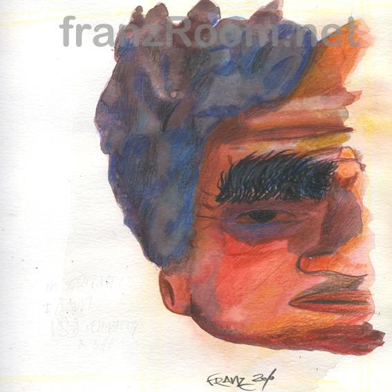 Ritrarre Nessuno 03 - Andrea Franzosi, franzroom.net