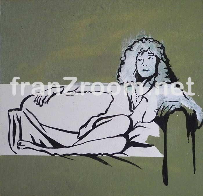 Relax - Spray e acrilico su legno - Andrea Franzosi, franzRoom.net