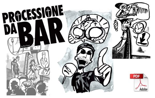 processione da bar - andrea franzosi