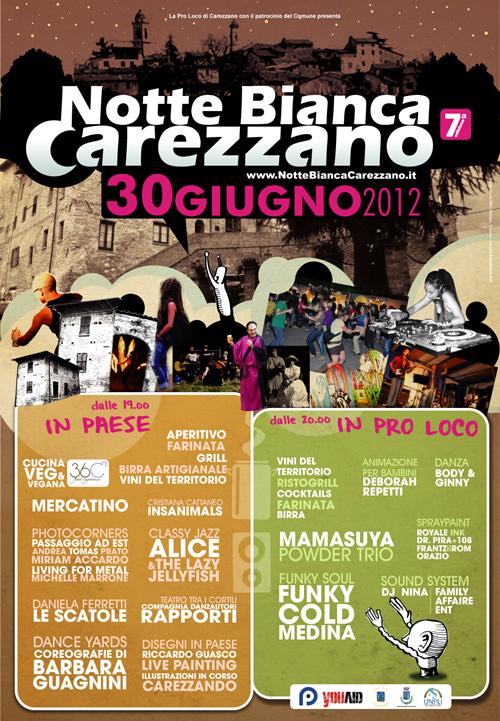 Poster Notte Bianca Carezzano