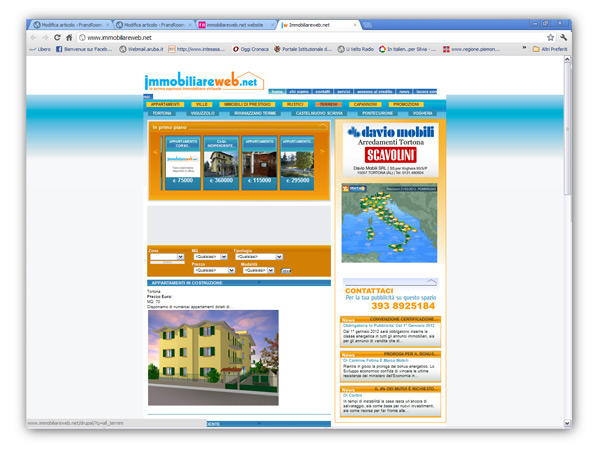<em>ImmobiliareWeb.net</em>  website
