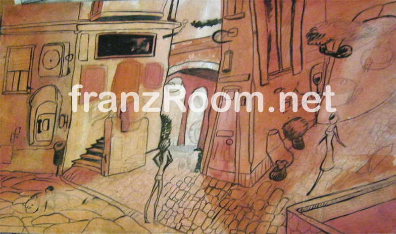 Spaesamenti in corso, Andrea Franzosi franzRoom.net