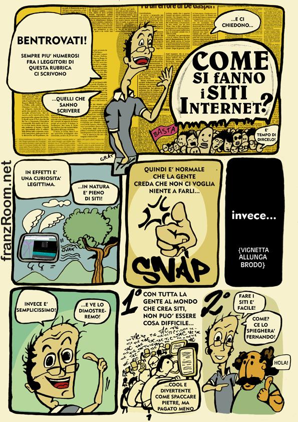 Come si fanno i siti internet, pag 01 - andrea franzosi franzroom.net