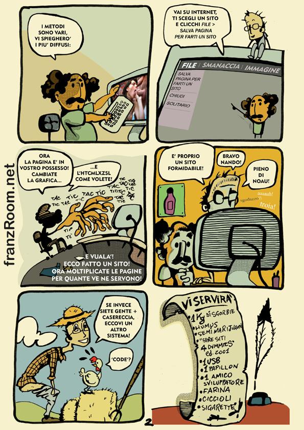 Come si fanno i siti internet, pag 02 - andrea franzosi franzroom.net
