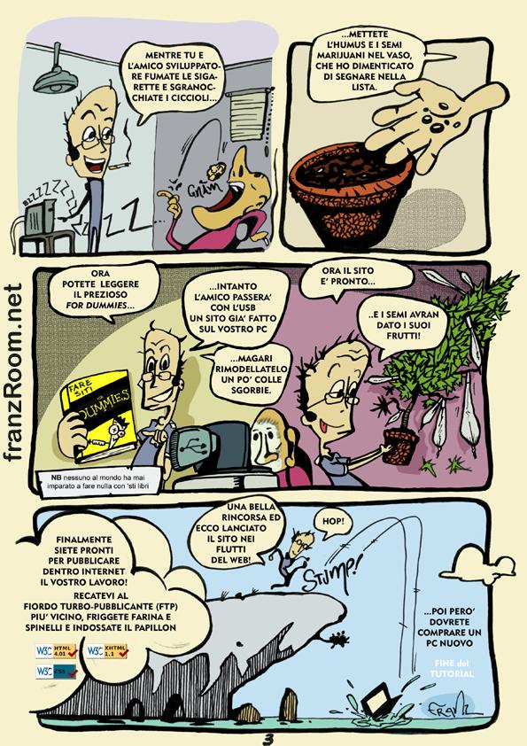 Come si fanno i siti internet, pag 03 - andrea franzosi franzroom.net
