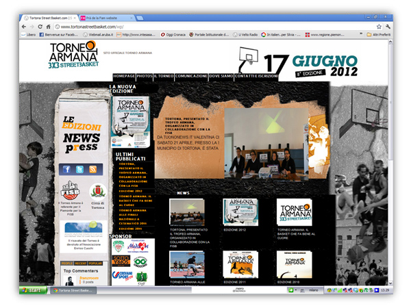 <em>Torneo Armana</em> website
