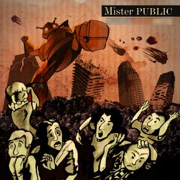mr Public cd cover andrea franzosi, franzRoom.net