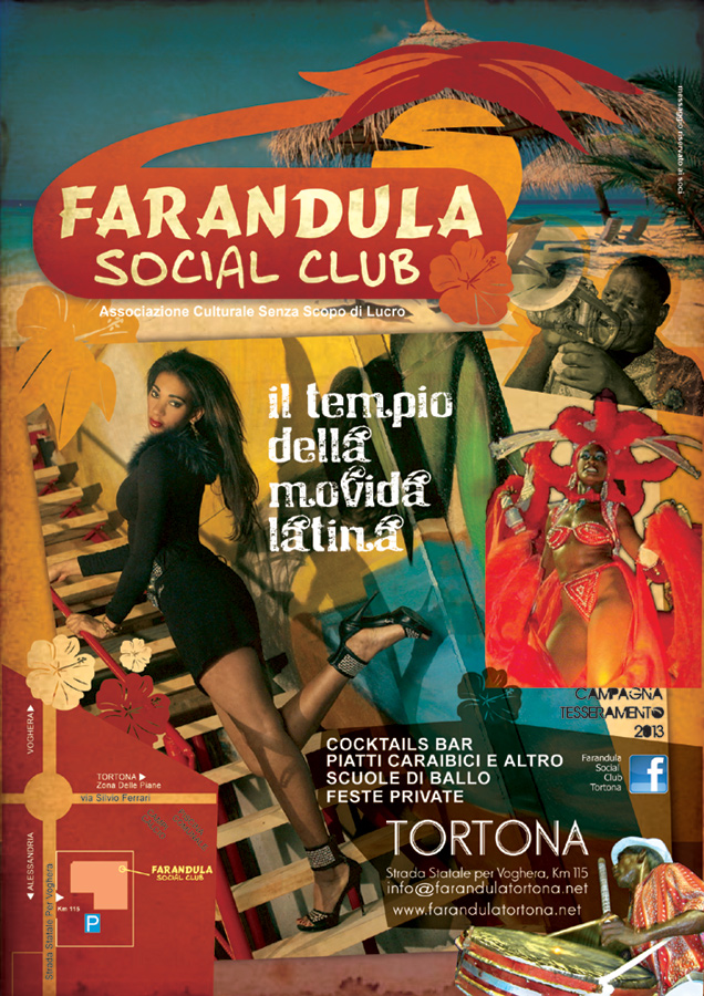 Farandula Social Club flyers