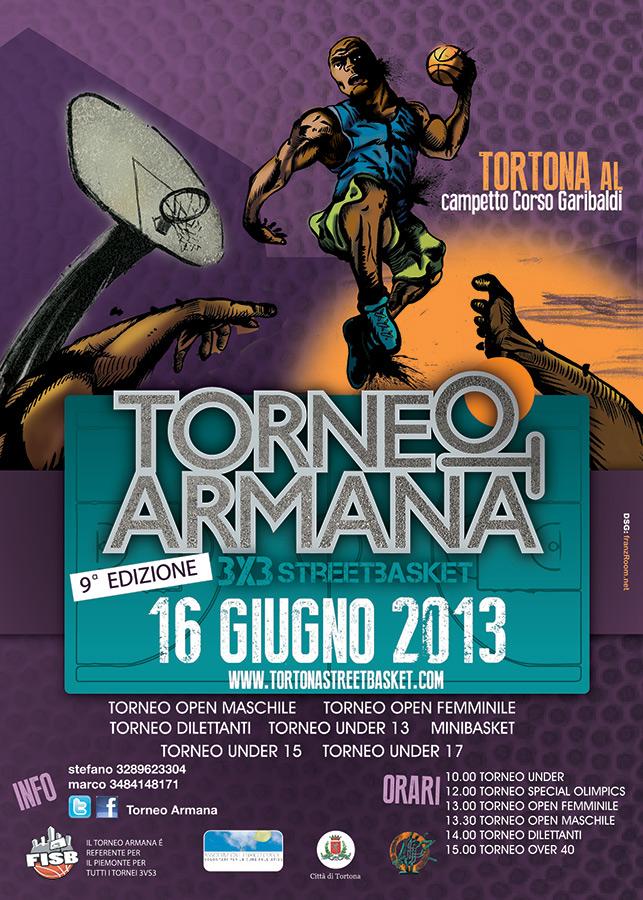 Torneo Armana 2013 PreFlyer