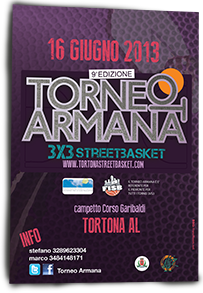 Torneo Armana Street Basket 2013 - design franzRoom.net