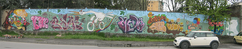murata completa Laboratorio Street Art Carpe Diem e franzRoom.net