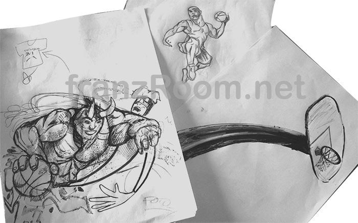 Torneo Armana 2013 franzRoom sketches