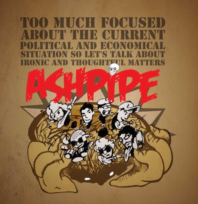 Ashpipe miniCD cover by franzRoom.net Andrea Fanzosi