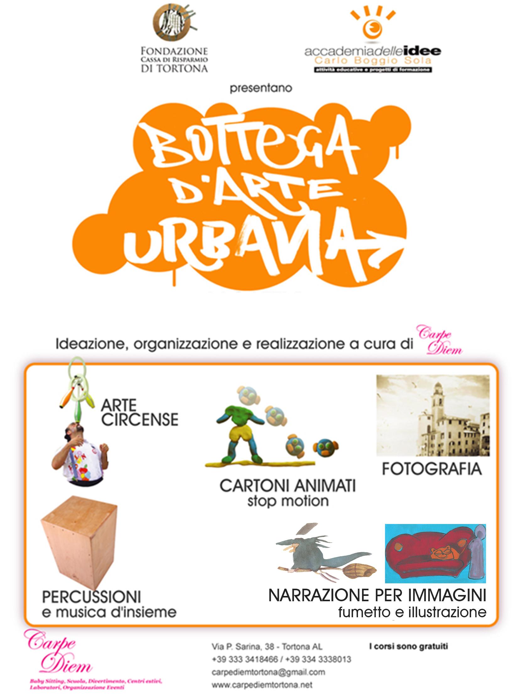 Bottega d'Arte Urbana – Narrazione per Immagini