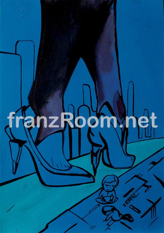 illustraScarpe Blade Runner - Andrea Franzosi franzroom.net