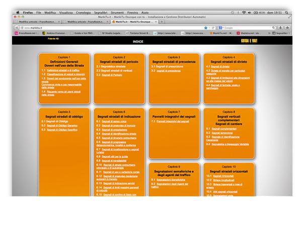 Guida e Vai proiettore by Andrea Franzosi, franzroom.net