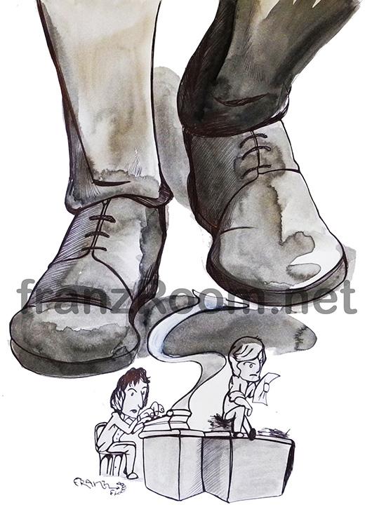 illustraScarpe - Tutt iGli Uomini Del Presidente franzRoom.net