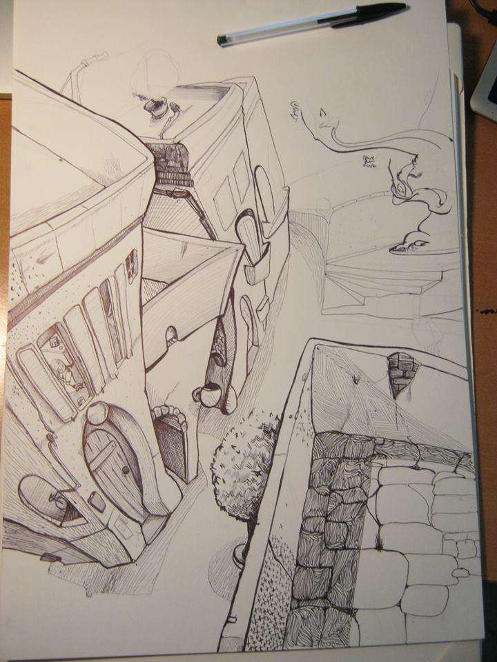 Spaesamenti in lavorazione - Andrea Franzosi franzroom.net