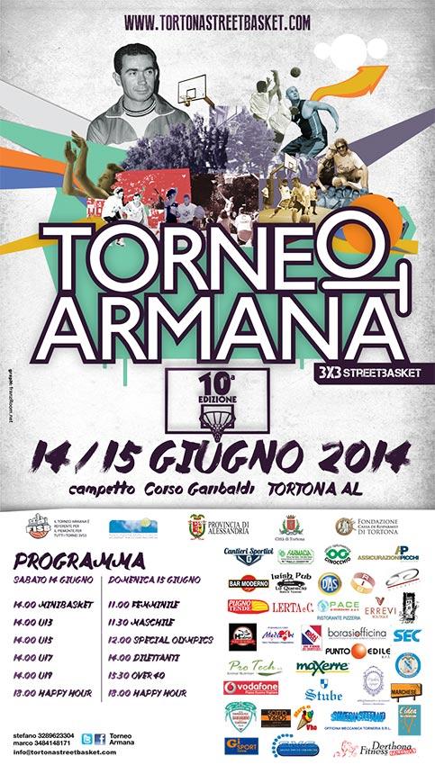 Torneo Armana 2014 - locandina franzRoom.net