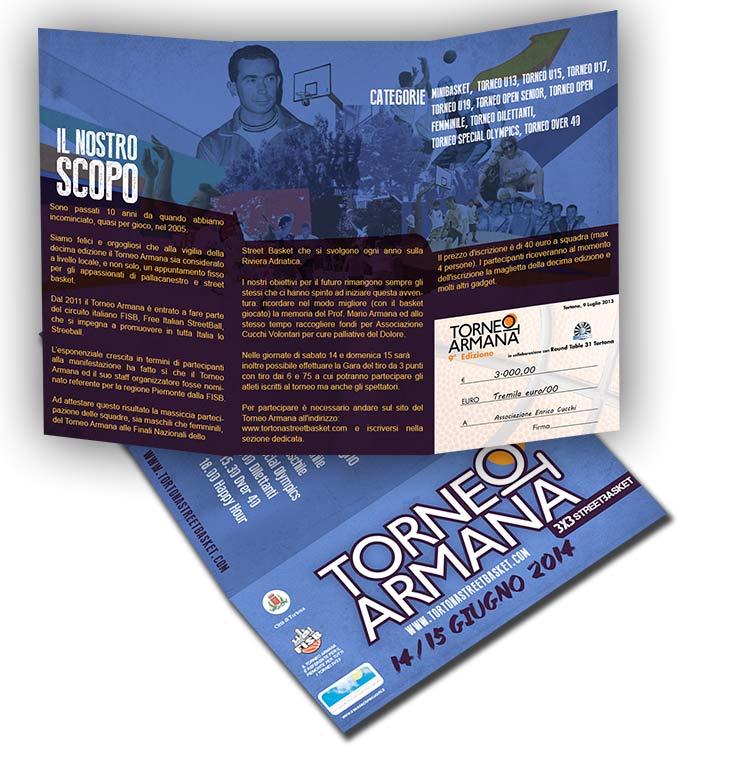 Torneo Armana 2014_brochure franzRoom.net