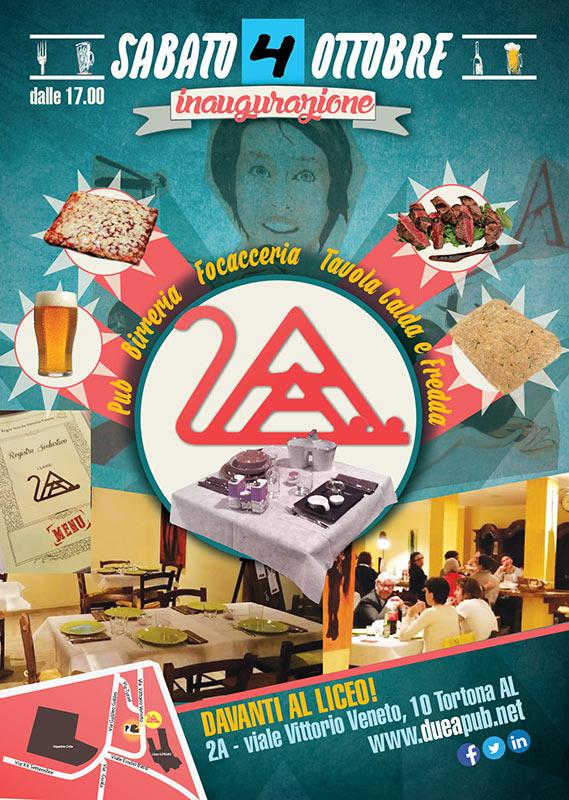 Locandina InaugurazionE 2A Pub - franzRoom.net