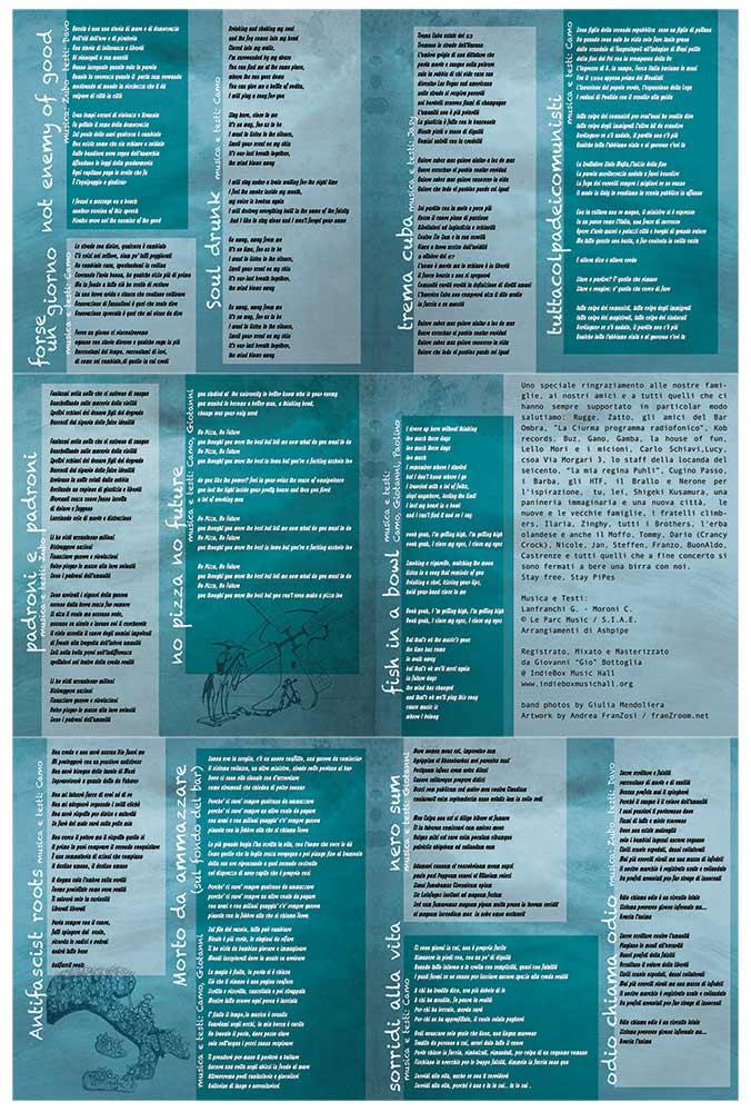 Ashpipe Ancorati - booklet design franzRoom.net Andrea Franzosi