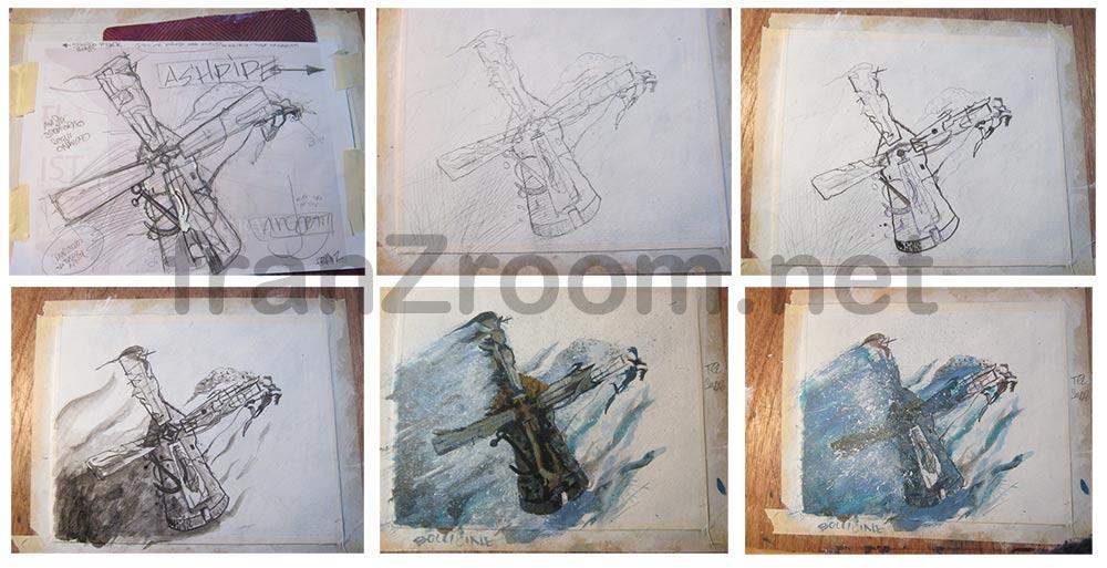 Ashpipe Ancorati - cover drawing - franzRoom.net Andrea Franzosi