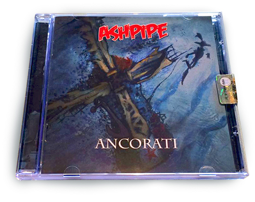 franzRoom 4 Ashpipe - Ancorati CD Box design