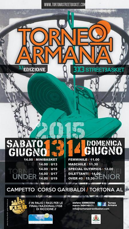 Torneo Armana 2015 3×3 Street Basket