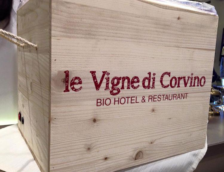 Le Vigne di Corvino - scrigno vini personalizzato