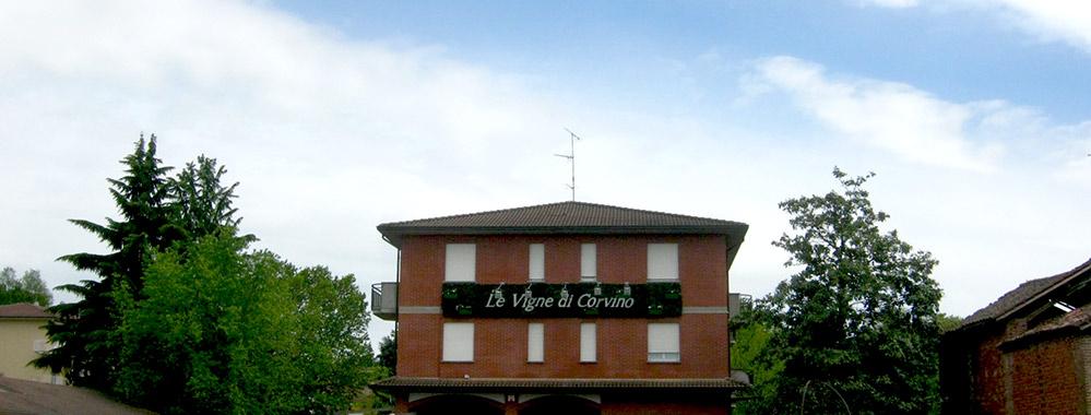 Le Vigne di Corvino - ingresso