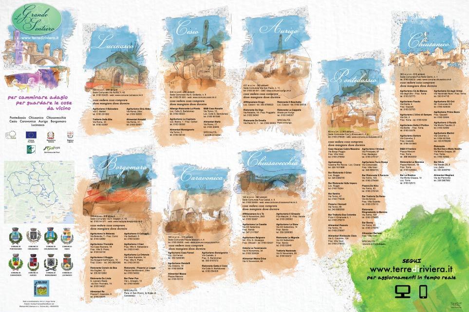 Il Grande Sentiero, illustrazioni spaesate della cartina, franzRoom.net