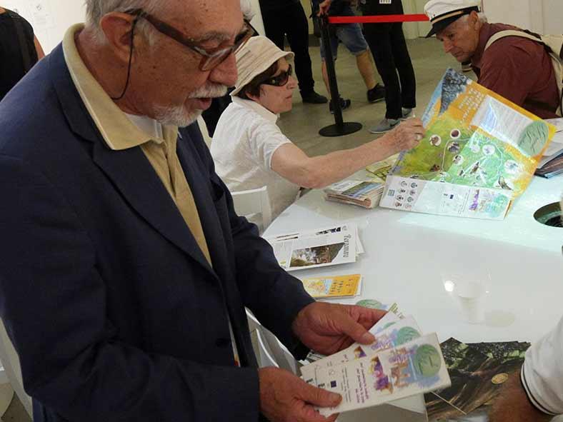 Il Grande Sentiero, stand Liguria Expo 2015