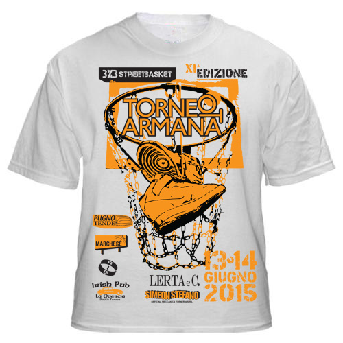 franzRoom.net, design t Shirt Torneo Armana 2015 - Andrea Franzosi