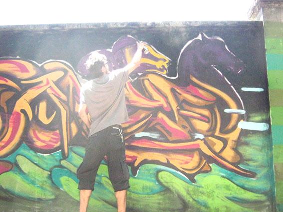 franZ paints @ Street Players 2015 - franzRoom.net