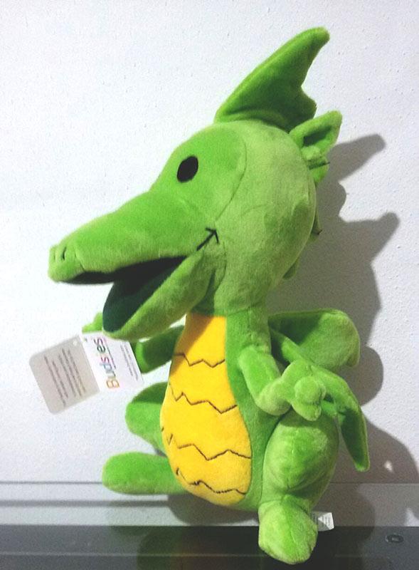 Il Drago della pappa - peluche by franzRoom.net