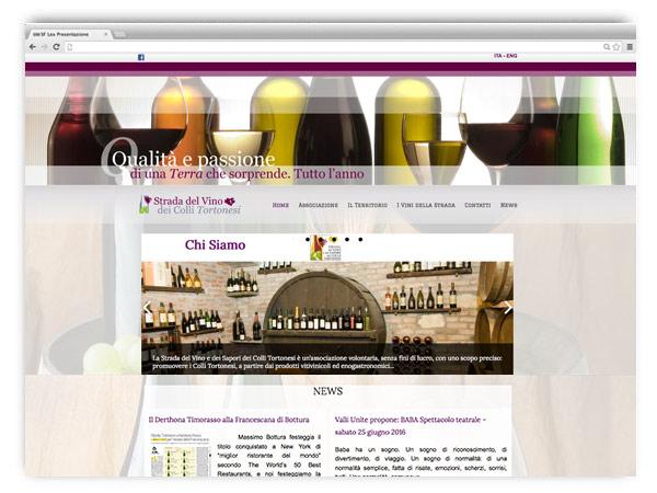 Strada dei Vini Colli Tortonesi - website by franzRoom.net