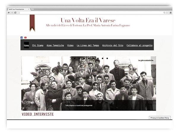 <em>EraIlVarese</em>  website