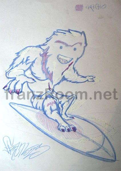 Sketches Misfit Yeti - franZroom.net