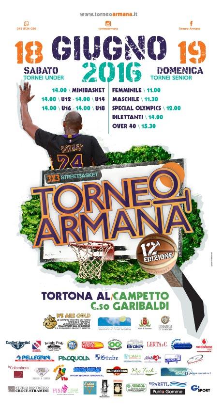 Torneo Armana 2016 - Locandina