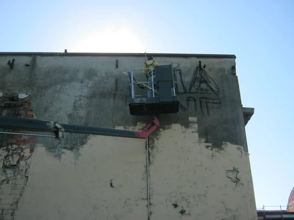 Ex Fonderia Castelli - Decorazione a spray - Andrea Franzosi franZroom.net