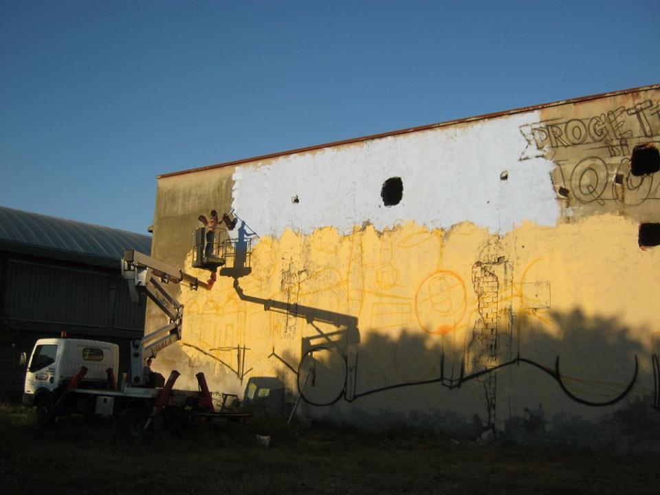 Ex Fonderia Castelli - Decorazione su cestello - Andrea Franzosi franZroom.net